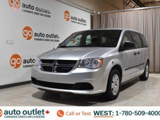 Used 2012 Dodge Grand Caravan SE Third row seat Cloth seats for sale in Edmonton, AB