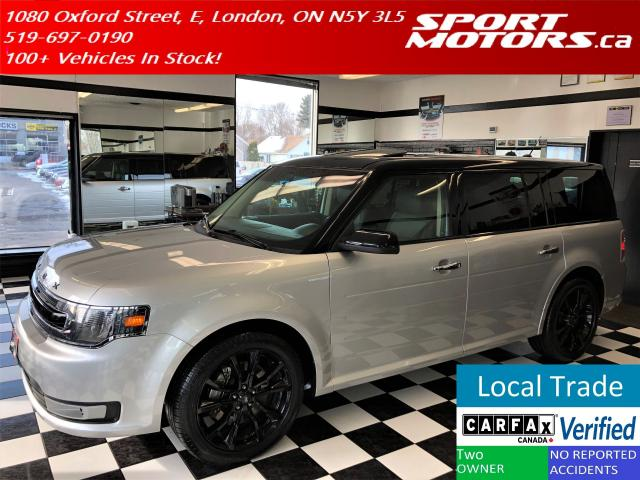 2016 Ford Flex SEL AWD+New Tires+Blind Spot+Leather+GPS+Camera