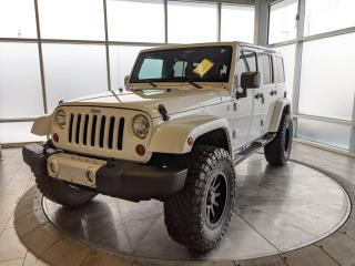 Used 2013 Jeep Wrangler Unlimited Unlimited - Low Mileage, Accident Free One Owner! for sale in Edmonton, AB