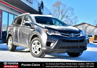 Used 2014 Toyota RAV4 LE UPGRADE AWD CAMÉRA DE RECUL, GROUPE ÉLECTRIQUE for sale in Pointe-Claire, QC