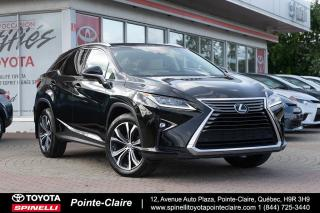 Used 2017 Lexus RX 350 LUXURY GPS, TOIT, MAGS for sale in Pointe-Claire, QC