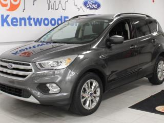 Used 2017 Ford Escape SE 4WD ecoboost with heated power seats. keyless entry and a back up cam for sale in Edmonton, AB