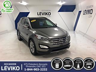 Used 2014 Hyundai Santa Fe Sport SE AWD **CUIR+ TOIT + CAMERA** for sale in Lévis, QC