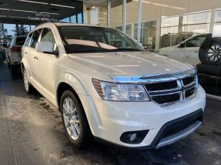 Used 2017 Dodge Journey GT AWD, ACCIDENT FREE, SUNROOF, DVD ENTERTAINMENT SYSTEM, POWER HEATED LEATHER SEATS for sale in Edmonton, AB
