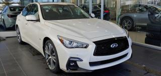 New 2020 Infiniti Q50 EXECUTIVE DEMO, Signature Edition ProASSIST for sale in Edmonton, AB