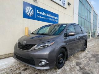 Used 2015 Toyota Sienna SE 8 PASS - LEATHER / HEATED SEATS for sale in Edmonton, AB