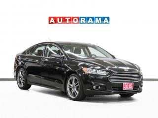 Used 2015 Ford Fusion Titanium AWD Navigation Leather Sunroof Backup Cam for sale in Toronto, ON