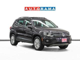 Used 2016 Volkswagen Tiguan Special Edition 4WD Panoramic Sunroof Backup Cam for sale in Toronto, ON