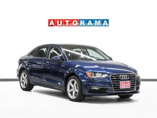 Used 2016 Audi A3 Komfort Quattro Leather Sunroof for sale in Toronto, ON