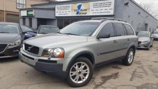 Used 2004 Volvo XC90 7 PASS for sale in Etobicoke, ON