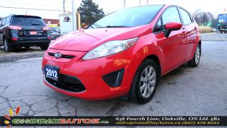 Used 2012 Ford Fiesta SE|LOW KM|NO ACCIDENT|SUNROOF|BLUETOOTH|CERTIFIED for sale in Oakville, ON