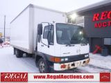 Photo of White 2003 Hino FD  REG CAB BOX TRUCK 2WD DRW
