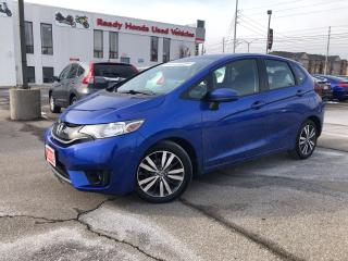 Used 2016 Honda Fit EX - Sunroof - Bluetooth - Rear Camera for sale in Mississauga, ON
