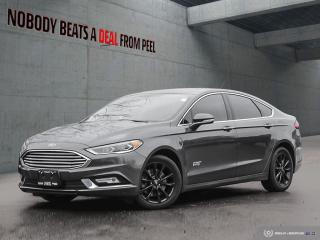 Used 2017 Ford Fusion Energi SE Luxury Dark Edition, No Accidents, Roof, EV for sale in Mississauga, ON