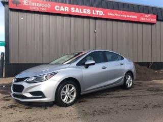 Used 2018 Chevrolet Cruze LT AUTO for sale in Edmonton, AB