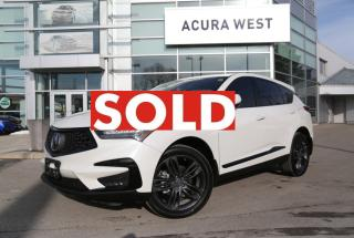 Used 2019 Acura RDX A-spec Only 4558Kms. Acura Certified Warranty for sale in London, ON