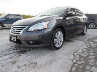 Used 2015 Nissan Sentra LEATHER / NAV / ONE OWNER for sale in Newmarket, ON
