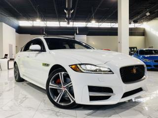 Used 2017 Jaguar XF |R-SPORT|BROWN LEATHER|MOON ROOF|SELF PARKING! for sale in Brampton, ON