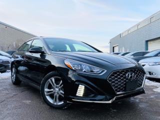 Used 2019 Hyundai Sonata |SUN ROOF|LEATHER HEATED SEATS|REAR VIEW CAM|APPLE CAR PLAY! for sale in Brampton, ON