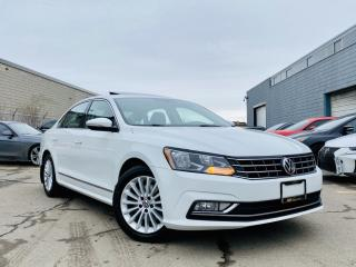 Used 2016 Volkswagen Passat |ADAPTIVE CRUISE|SUN ROOF|REAR VIEW CAM|BLIND SPOTS|LEATHER! for sale in Brampton, ON