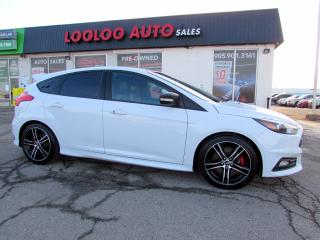 Used 2016 Ford Focus ST Hatch 6 SPEED MANUAL NAVI CAMERA CERTIFIED for sale in Milton, ON