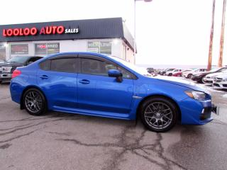 Used 2015 Subaru Impreza WRX WRX SPORT TECH PKG AUTO NAVI CAMERA CERTIFIED for sale in Milton, ON