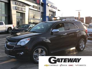 Used 2011 Chevrolet Equinox LTZ-LEATHER-SUNROOF-REAR CAMERA for sale in Brampton, ON