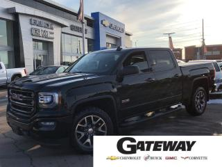 Used 2017 GMC Sierra 1500 SLT-SUNROOF-HTD SEATS-WHEEL for sale in Brampton, ON
