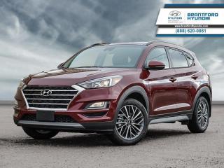 New 2020 Hyundai Tucson Luxury  - Leather Seats -  Sunroof for sale in Brantford, ON