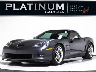 Used 2009 Chevrolet Corvette Z06, 505 HP, NAV, HEADS UP, CHROME WHEELS, CLEAN for sale in Toronto, ON