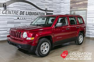 Used 2016 Jeep Patriot SPORT for sale in Laval, QC