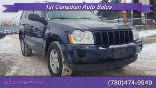 Used 2005 Jeep Grand Cherokee Laredo 4dr Laredo for sale in Edmonton, AB
