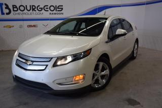 Used 2014 Chevrolet Volt *** CUIR, BOSE, NAV., MAGS POLIS, caméra, S1 & S2 for sale in Rawdon, QC