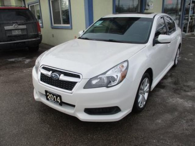 2014 Subaru Legacy ALL-WHEEL DRIVE LIMITED EDITION 5 PASSENGER 2.5L - SOHC.. NAVIGATION.. LEATHER.. HEATED SEATS.. POWER SUNROOF.. BACK-UP CAMERA.. BLUETOOTH..