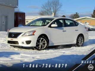 Used 2014 Nissan Sentra SR + PREMIUM + NAVI + CAMÉRA! for sale in Magog, QC