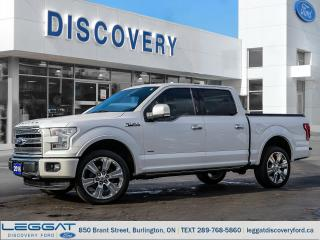 Used 2016 Ford F-150 Limited  for sale in Burlington, ON