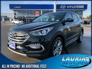 Used 2017 Hyundai Santa Fe Sport 2.0T AWD SE - Leather / Panoramic sunroof for sale in Port Hope, ON