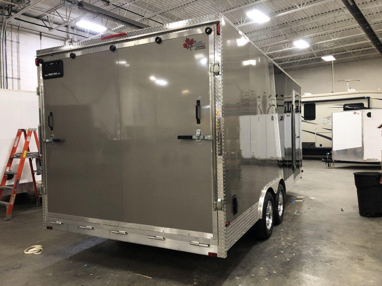 2020 Canadian Trailer Company 8.5X18 V-Nose Cargo Trailer