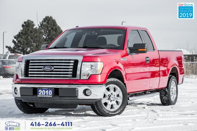 2010 Ford F-150 5.4L 6Seat XLT Clean Carfax Certified Tires&Brakes