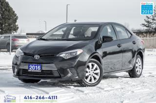 Used 2016 Toyota Corolla LE|Low KM|Backup Camera|Bluetooth|Warranty for sale in Bolton, ON