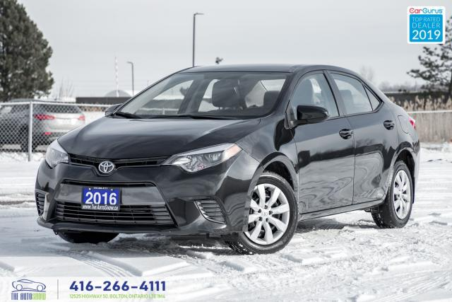 2016 Toyota Corolla LE Certified Warranty We Finance New Tires& Brakes