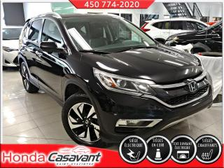 Used 2016 Honda CR-V TOURING AWD **TRÈS PROPRE** for sale in St-Hyacinthe, QC
