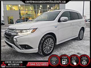 Used 2019 Mitsubishi Outlander PHEV SE S-AWC AVERT. ANGLE MORT, CAMERA for sale in St-Jérôme, QC