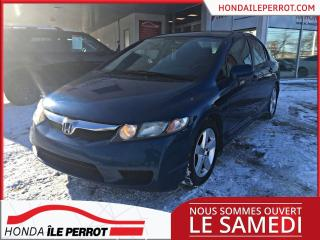Used 2011 Honda Civic SE BAS KM ,TRÈS PROPRE for sale in Île-Perrot, QC