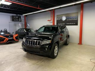 Used 2013 Jeep Grand Cherokee 4x4, AUTO, GPS, CAMÉRA, CUIR, TOIT PANO, for sale in Montréal, QC