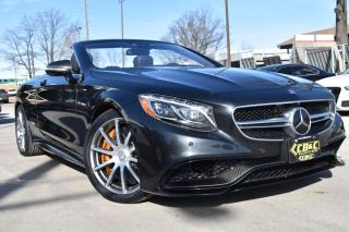 Used 2017 Mercedes-Benz S-Class S63 AMG CAB  - CRBN FBRE PKG - CRBN CRMC BRAKES for sale in Oakville, ON
