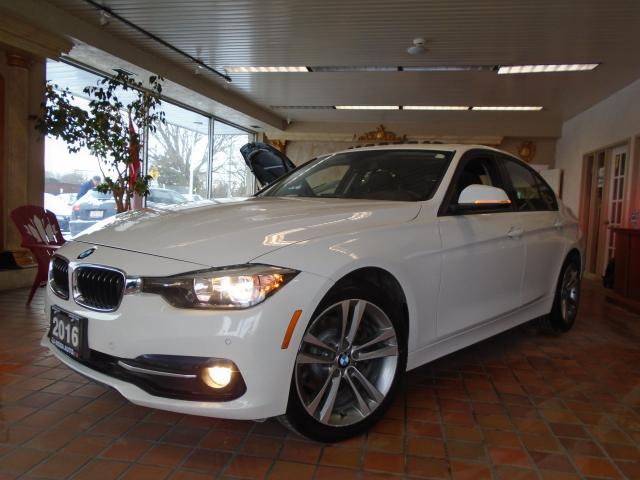 2016 BMW 3 Series AWD LOW KM NO ACCIDENT NAVIGATION SUNROOF 320i xDr