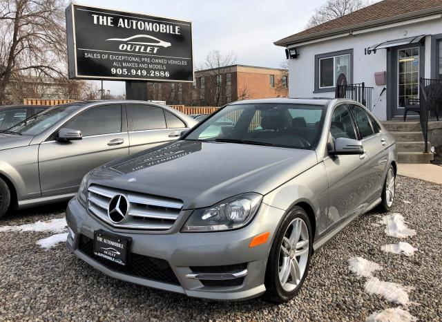 2013 Mercedes-Benz C300 3.5L 4MATIC CERTIFIED LOW KMS LEATHER NO ACCIDENT