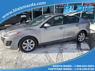 Used 2010 Mazda MAZDA3 GX for sale in Ste-Marie, QC