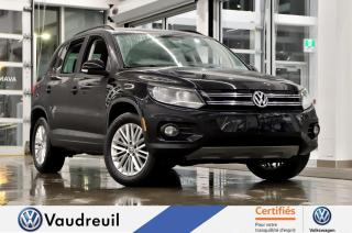 Used 2016 Volkswagen Tiguan Special Édition 4MOTION *TOIT *CAM DE RE for sale in Vaudreuil-Dorion, QC